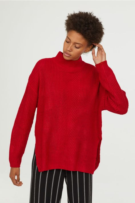 Afro red Sweater