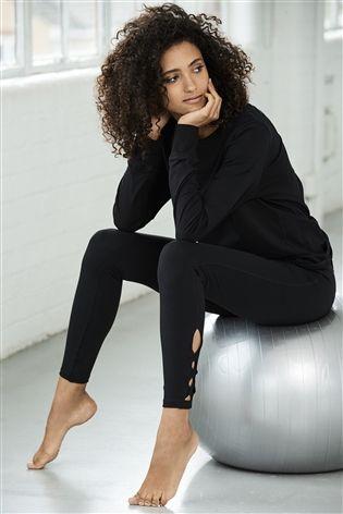 Cute All Black Yoga