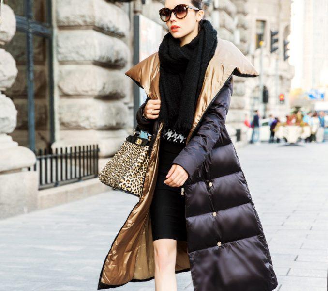 gold trum 4 long coat